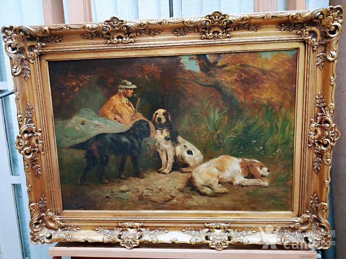 十九世纪欧洲名家画作亮相华夏收藏网首场西洋油画主题拍